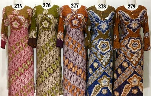 Grosir Daster Lengan Panjang Long Dress