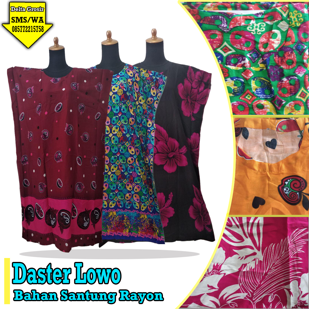 Pabrik Daster Lowo Dewasa Murah 31ribuan