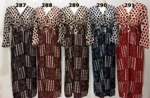 Grosir Daster Lengan Panjang Long Dress